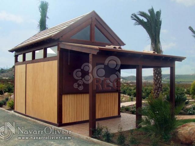 Venta y alquiler de casetas kioscos y chiringuitos for Fotos de kioscos de madera