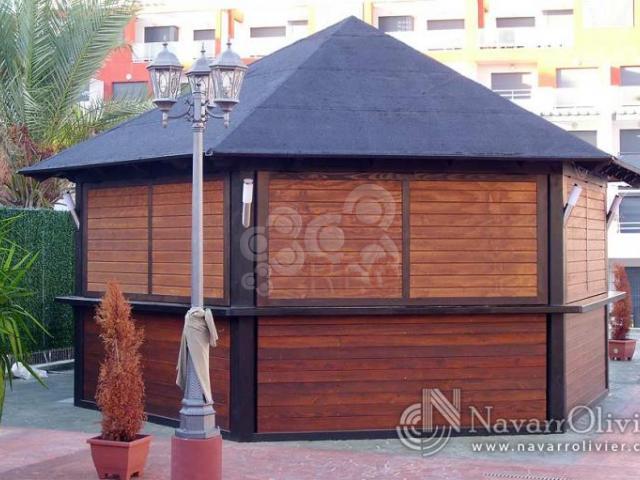 Venta y alquiler de casetas kioscos y chiringuitos for Kioscos de madera baratos